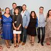 Nicole Platt, Debra Fazio, Chris Cuomo (back), Jaimee Kosanke, David Schwarz, Kassie Canter, Derrik Murray, RoseMarie Terenzio, Cristina Cuomo