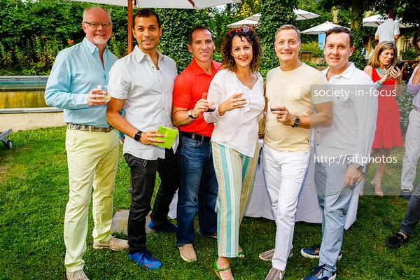 Philip Hess, Douglass Figueredo, Stephen Rosenfeld, Jill Sammak, Tom Vitale and Timothy Burch