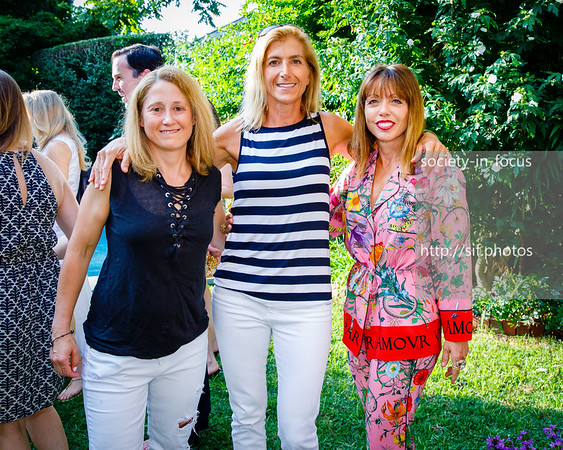 Jennifer Solomon, Gina Bradley and Silvina Leone