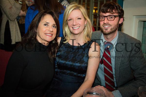 Helen Cleland, Anne Chaisson, David Nugent