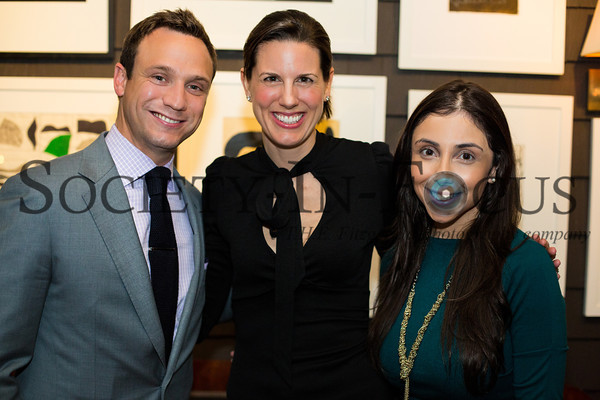 Matt Carroll, Kelly Berg, Christina Ribeiro