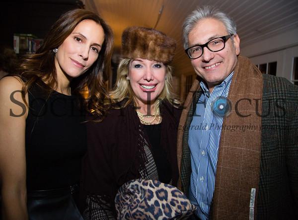 Cristina Cuomo, Cindy Lou Wakefield, Rick Friedman