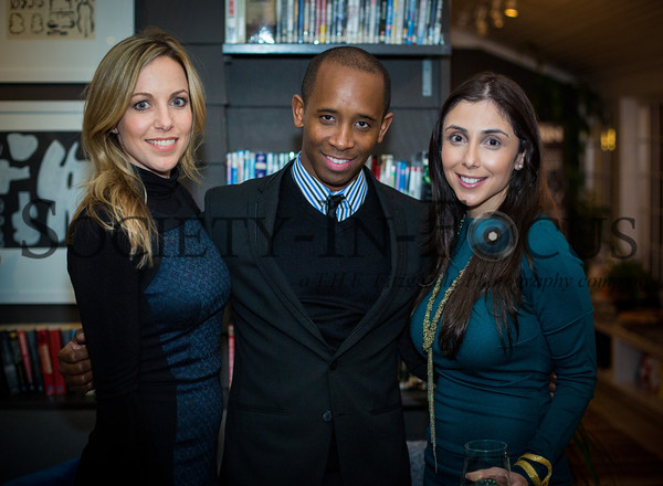 Kimberly Murray, Brandon Grant, Christina Ribeiro
