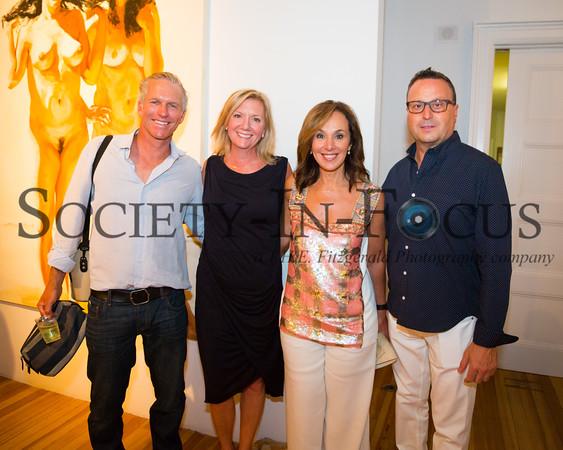 Chris ?, Anne Chaisson, Rosanna Scotto, Louis Ruggiero