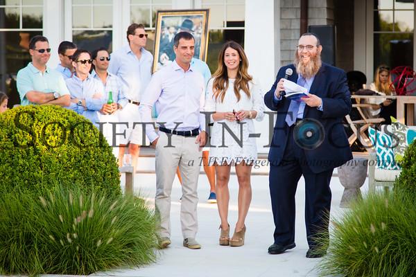 Daniel Leibowitz, Hillary Leibowitz, Rabbi Leibel Baumgarten