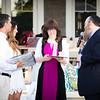 Rabbi Baumgarten and Goldie Baumgarten presenting to Dan and Hillary Leibowitz