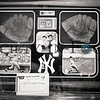 Mickey Mantle and Roger Maris Dual Signed Vintage Shadowbox