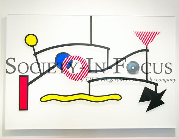Suspended Mobile by Roy Lichtenstein