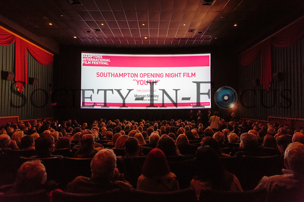 Hamptons International Film Festival 2015 Opening Night in Southampton Screening of YOUTH