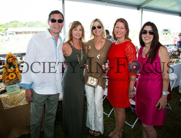 Fred Tanne, Linda Moore, Laura Moore, Nancy Perry, Wilhelmina Waldman