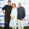 Chef Todd English, Marion Waxman, Dr. Samuel Waxman