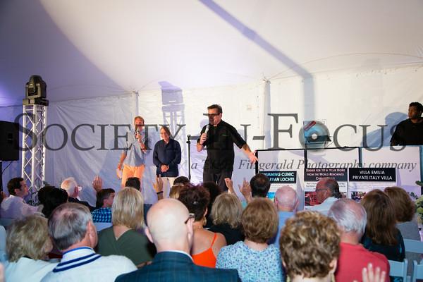 Chris Wragge, Dr. Samuel Waxman, Chef Todd English