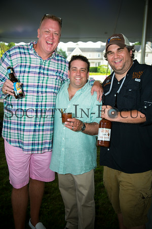Billy Hofmann, Aaron Gaffner (Oak Beverages) , David Rosen (Ubon's Bloody Mary Mix)