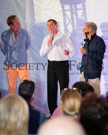 Chris Wragge, Ken Fishel, Dr. Samuel Waxman