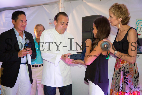 Robert Kantor, Chef Jean-Georges, Mary Kantor, Adrienne Kantor