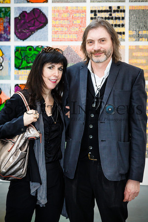 Leslie Tonkonow, Klaus Ottmann (Curator of Show)
