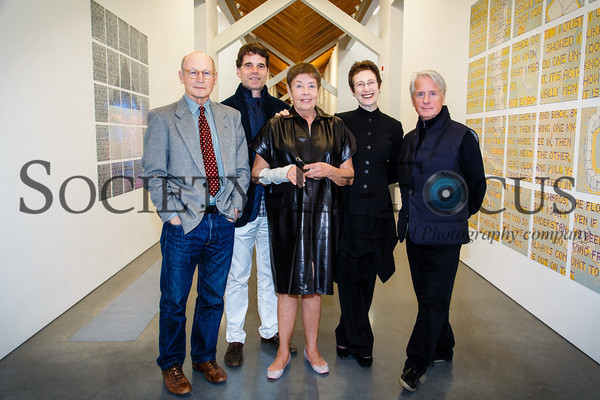 David White, Anthony Gammardella, Jennifer Bartlett (Featured Artist), Terrie Sultan (Parrish Director), Douglas Baxter