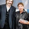 Klaus Ottmann (Curator of Show), Jennifer Bartlett (Featured Artist)