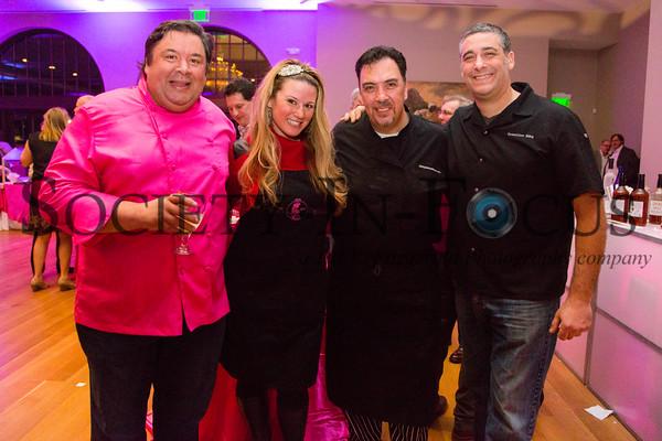 Chef Peter Ambrose, Chef Dina Tsiorvas, Chef Joe Realmuto