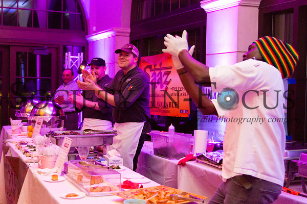 Even the chefs were dancing!