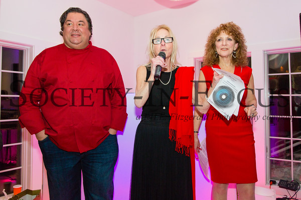 Chef Peter Ambrose, Linda Shapiro, Julie Ratner