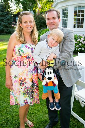 Irene Aldridge, Steven Krawciw, and Young Guest