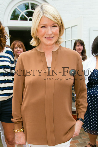 Stirring the Pot with Martha Stewart at Guild Hall with BEACH Magazine in East Hampton, NY on August 17, 2014