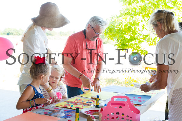 Parrish Art Museum's Second Annual Summer Family Party in Water Mill, NY on August 2, 2015