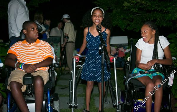 Campers Singing National Anthem