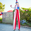 Juggler on Stilts
