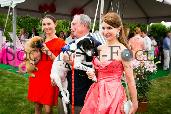 Georgina Bloomberg, Michael Bloomberg, Jean Shafiroff