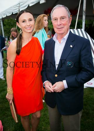 Georgina Bloomberg, Mayor Michael Bloomberg