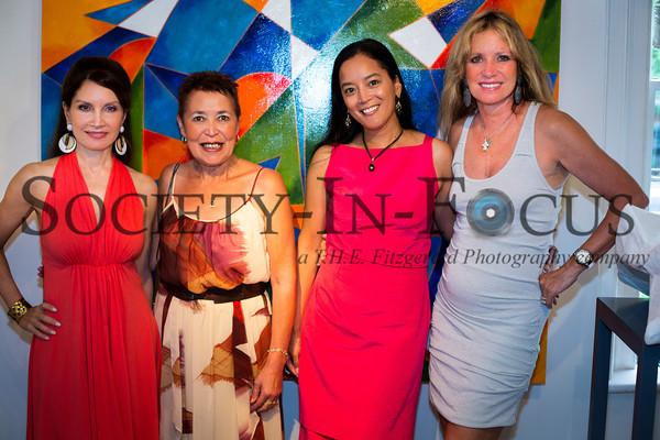 Jean Shafiroff, Wanda Murphy, Cassandra Seidenfeld Lyster, Sandy Rosenthal