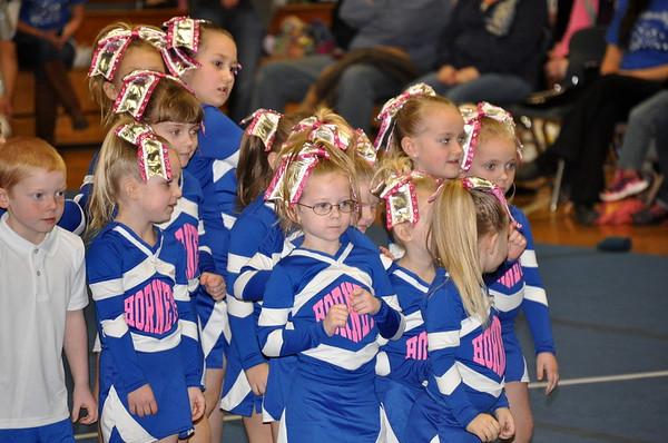 Hancock Littles Cheering Squad