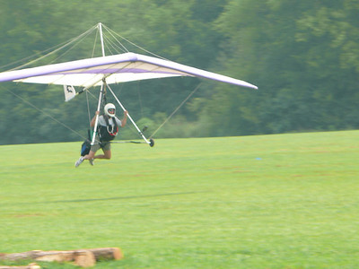 Hang Gliding Training - August 5, 2007