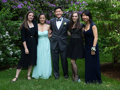 The night before graduation: Chloe, Mei, Jae, Hannah, and Alaina ...