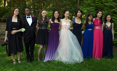 Chloe, Mark, Hannah, Shirley, Yuki, Alaina, Meena, Kitty, and Amanda