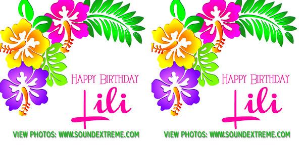 Happy Birthday Lili