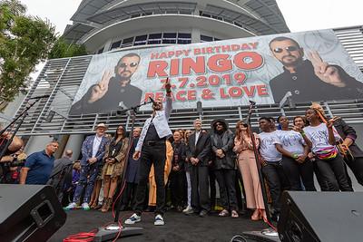 2019_07_07, Birthday, CA, Capitol Records, Los Angeles, Ringo, Ringo Starr, Names, David Lynch, Don Was