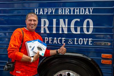 2019_07_07, Birthday, CA, Capitol Records, Los Angeles, Ringo, Giveaways, OWC, Bus, Exterior