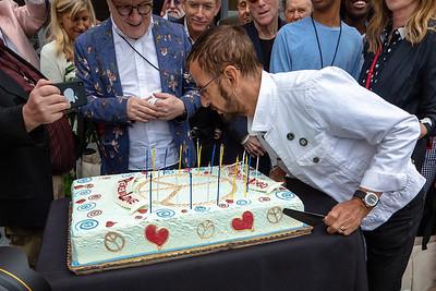 2019_07_07, Birthday, CA, Capitol Records, Los Angeles, Ringo, Ringo Starr