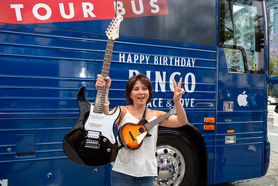 2019_07_07, Birthday, Bus, CA, Capitol Records, Exterior, Giveaways, Los Angeles, Yamaha, Ringo