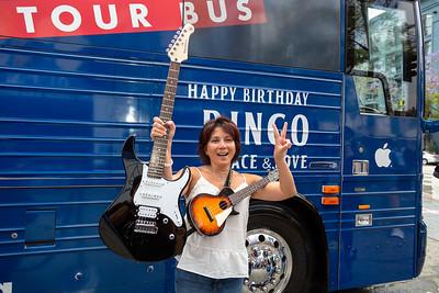 2019_07_07, Birthday, Bus, CA, Capitol Records, Exterior, Giveaways, Los Angeles, Yamaha, Ringo