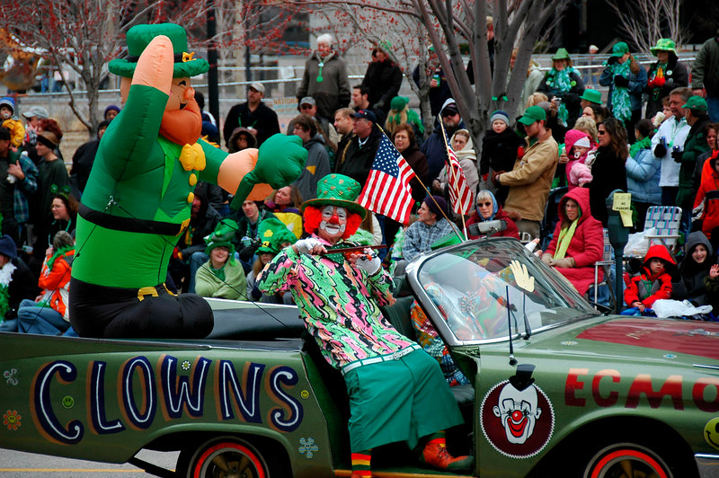St. Patrick's Day parade<br /> St. Louis<br /> RL