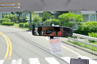 reeves focused on the road