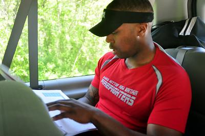 ryan checking the maps