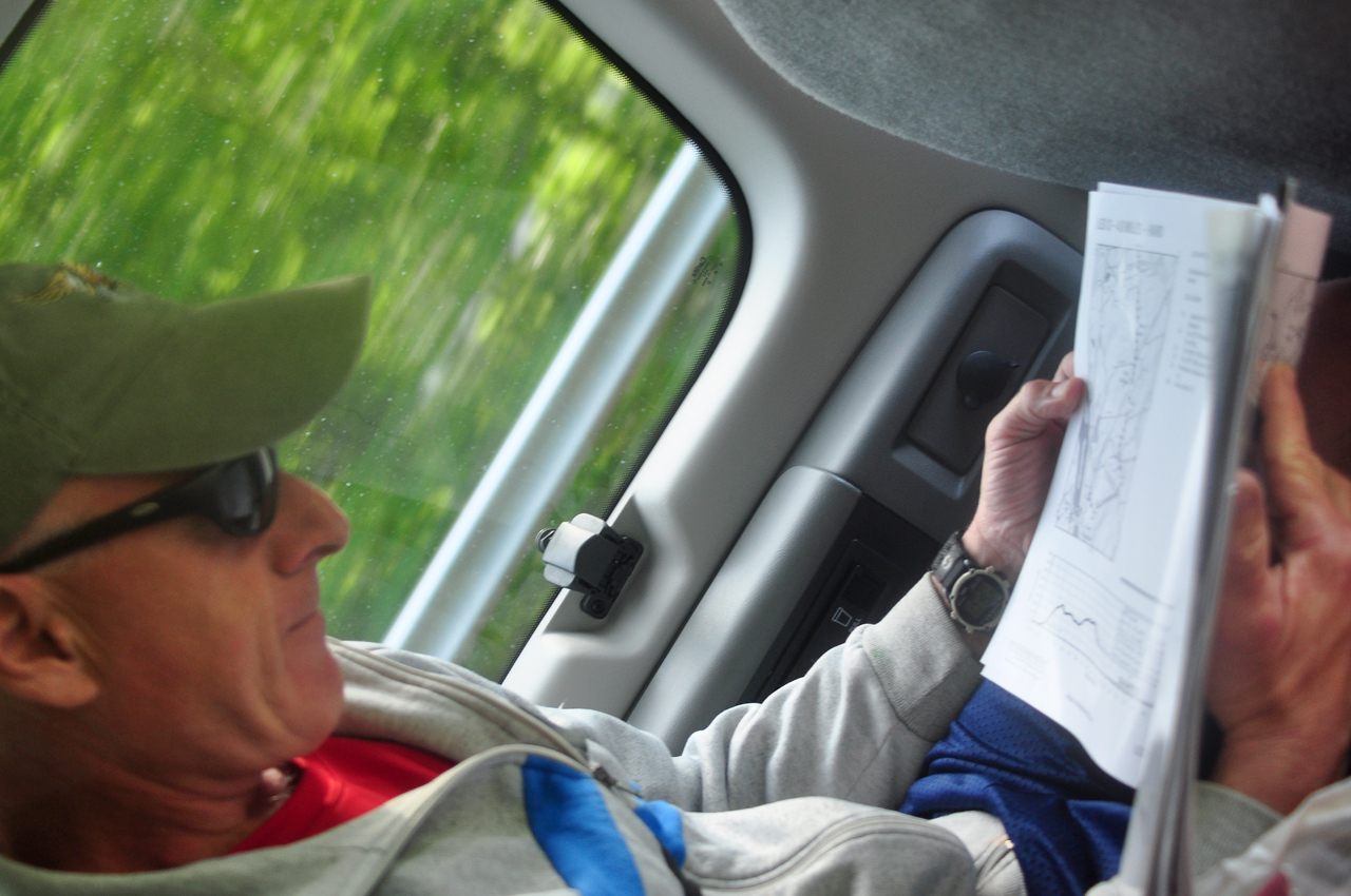 studying the routes