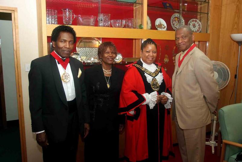 Deputy Mayor & Mayoress with Mayor & Consort