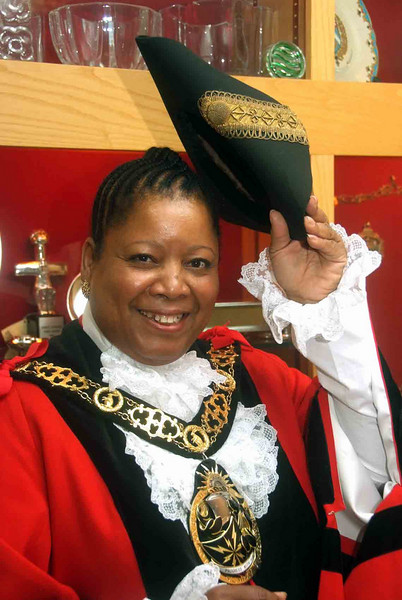 Mayor of Haringey 2009-10 Councillor Bernice Vanier