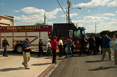 Harker Heights Fire Engine Ceremony